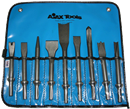 AJAX TOOLS A9029 9 Pc. Professional Chisel Set