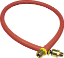 "AMFLO PRODUCTS 25L-24BD Swivel End Lead-In Hose - 1/4"" x 24"""