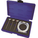 One-Person Brake Bleeding Wrench Kit with Check Valve