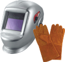 ASTRO PNEUMATIC 8077SE Automatic Deluxe Solar ADF Welding Helmet with Free Welding Gloves