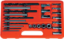 ASTRO PNEUMATIC 9447 25 Pc. Screw Extractor/Drill & Guide Set