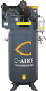 C-AIRE COMP. A050V080-1230 5 HP, Two-Stage 80 Gal. Compressor