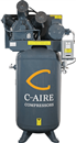 C-AIRE COMP. A075V080-1230 7.5 HP, Two-Stage Pump 80 Gal. Compressor