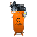 C-AIRE COMP. A075V080-1230FP 7.5 HP, Two-Stage Pump 80 Gal. Compressor, Fully Packaged