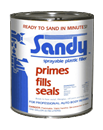 CLAUSEN SPF-1 Sandy Sprayable Polyester Primer - Quart