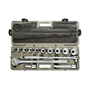 "CRESCENT CTK14SAE 14 Pc. 3/4"" Dr. Mechanics Tool Set, SAE"