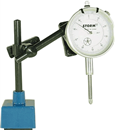 "CENTRAL TOOLS 3D101 0-1"" Dial Indicator Set with Magnetic Base"