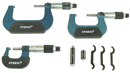 CENTRAL TOOLS 3M113 3 Pc. Swiss Style Micrometer Set