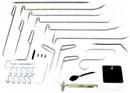 DENT FIX DF-PDRKIT33 33 Pc. Paintless Dent Removal Tool Set - PDR