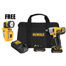 "DEWALT DCF813S2P 12V MAX 3/8"" Impact Wrench Kit"