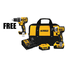 "DEWALT DCF890M2DRL 20V MAX* XR 3/8"" Compact Impact Wrench Kit (4.0 Ah)"