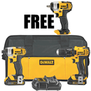 DEWALT DCK280C2P 20V MAX Lithium Ion Compact Drill/Driver / Impact Driver Combo Kit