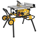 "DEWALT DWE7491RS 10"" Jobsite Table Saw & Rolling Stand"