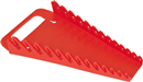 ERNST 5013 13 Tool Gripper Wrench Organizer -- Red