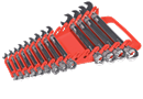 ERNST 5088 15 Tool Gripper Wrench Organizer -- Red