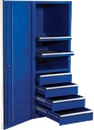 "EXTREME TOOLS EX2404SCBL 24"" Side Cabinet - Blue"