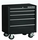 "EXTREME TOOLS EX2605RCBK 26"" 5 Drawer Roller Tool Cabinet - Black"