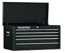 "EXTREME TOOLS EX2607CHBK 26"" 7 Drawer Top Chest - Black"