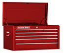 "EXTREME TOOLS EX2607CHRD 26"" 7 Drawer Top Chest - Red"