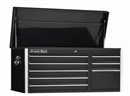 "EXTREME TOOLS EX4108CHBK 41"" 8 Drawer Top Chest - Black"