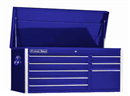 "EXTREME TOOLS EX4108CHBL 41"" 8 Drawer Top Chest - Blue"