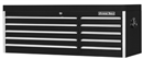 "EXTREME TOOLS EX5610CHBK 56"" 10 Drawer Top Chest - Black"