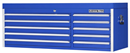 "EXTREME TOOLS EX5610CHBL 56"" 10 Drawer Top Chest - Blue"