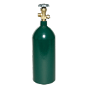 "FIREPOWER 0916-0033 OX-20 Type ""R"" Oxygen Cylinder, 20 cu. Ft. Capacity"