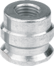 "FJC INC 2604 1/4"" Straight High Side Adapter"