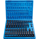 "GREY PNEUMATIC 1281 81 Pc. 3/8"" Dr. SAE & Metric Master Socket Set"