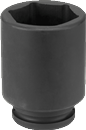 "GREY PNEUMATIC 3019MD 3/4"" Dr. x 19mm Deep Impact Socket, 6 Pt."