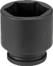 "GREY PNEUMATIC 3021M 3/4"" Dr. x 21mm Standard Impact Socket"