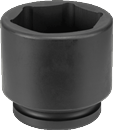 "GREY PNEUMATIC 4030M 1"" Dr. x 30mm Standard Impact Socket, 6 Pt."