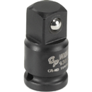 "GREY PNEUMATIC 938A 1/4"" Female x 3/8"" Male Adapter with Friction Ball"