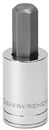 "GEARWRENCH 80155 1/4"" Drive Hex Bit Socket 1/8"""