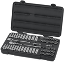 "GEARWRENCH 80551 57 Pc. 3/8"" Drive 12 Pt. Socket Set"