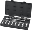 "GEARWRENCH 80707 23 Pc. 1/2"" Drive SAE Standard & Deep Socket Set"