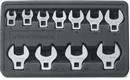 GEARWRENCH 81908 11 Pc. SAE Crowfoot Wrench Set