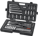 "GEARWRENCH 83001D 118 Pc. 1/4"", 3/8"", 1/2"" SAE/Metric Socket Set"