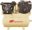 IR COMPRESSOR 45466067 Two-Stage Type 30, 80 Gallon Tank Horiz, 13 HP