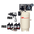 IR COMPRESSOR 45464922P Two-Stage Type 30 Value Package, 60 Gallon Vertical
