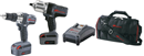 IR SERVICE TOOL IQV20-204 IQV20 High Power Impact & Drill Combo Kit
