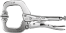 "IRWIN 18 The Original™ Locking C-Clamp with 6"" Swivel Pad"