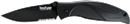 KERSHAW KNIVES 1550ST Blackout Serrated Knife
