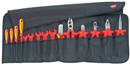 KNIPEX PLIER 989913 Tool Roll, 15 parts