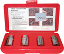 "K TOOL INTERNATIONAL 23900 4 Pc. 1/2"" Dr. Metric Stud Remover Set"