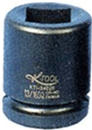 "K TOOL INT'L 34027 3/4"" Dr. Budd Wheel Impact Socket, 13/16"" Square x 1-1/2"" Hex"