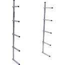 KEYSCO TOOLS 73784 ALUM. BUMPER STORAGE RACK
