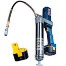 LINCOLN 1244 PowerLuber® 12-Volt Grease Gun - With Two Batteries