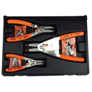 LANG TOOLS 1465 3 Pc. Quick Switch Retaining Ring Pliers Set
